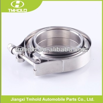 5 inch quick release stainless steel grooved pipe coupling clamp for turbo/blow off valves