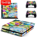 Van Gogh Art Painting Skin Sticker Covers Decal Wrap For Sony PS4