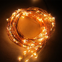 High Quality Cheap Price Christmas Lighting Decorative Battery Operated Copper Wire String Lights