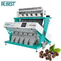 High Sensitive And Precisely Sorting Coffee /Cocoa /Robusta Bean Sorting Machine
