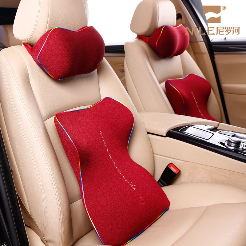 Best Back Contour Pain Relieve Lumbar Pillow for Office Chair Back Support Massage Pillow For Car Seat