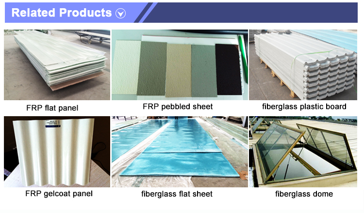 Top Quality Melinex-3011 anti aging membrane high gloss frp panels for sale