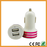 Wholesale Protable Colorful Electric Car Charger Fast Charge For iphone6 Samsuang
