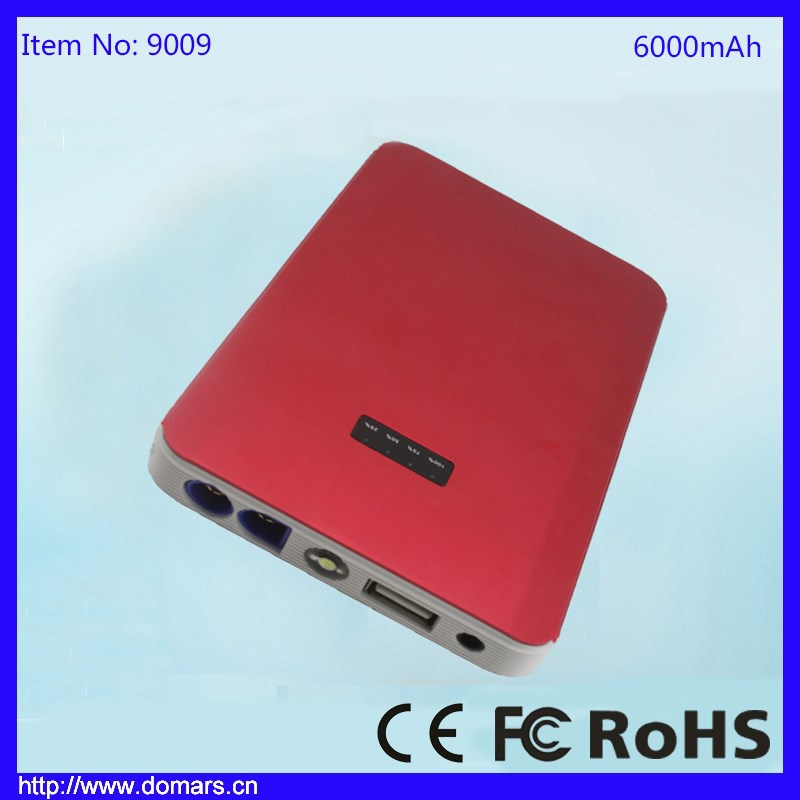 Wholesale Alibaba Multi-function Jump Starter 6000mAh Car Battery Booster
