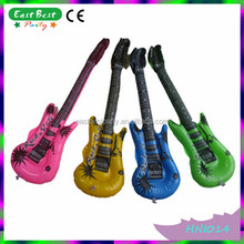 NEON COLOURS HEN STAG HAWAIIAN PARTY BLOW UP INFLATABLE GUITARS