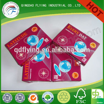 Lovely A4 copy paper with best price high quality 80g/75g/70g A4 copy paper A 4 copy paper