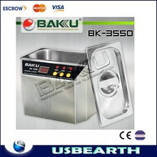 110V and 220V for Stainless Steel digital BK-3550 Ultrasonic cleaner 35W/50W BAKU brand