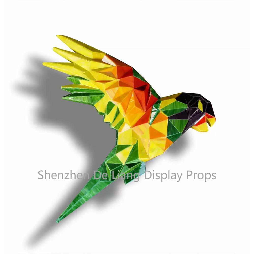 DL Parrots, pigeons, larks, shapes and shapes with window display for your market