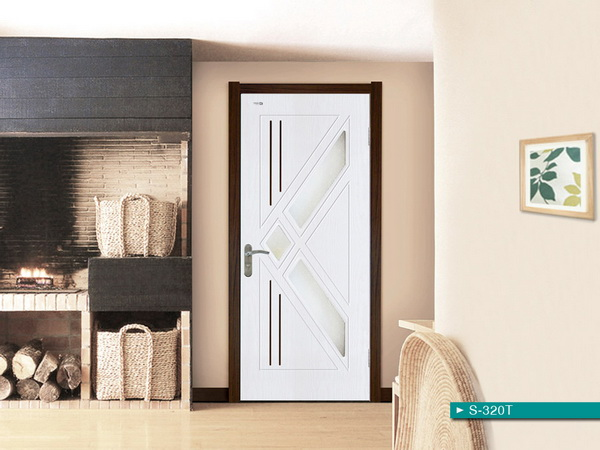 Modern Interior barn sliding Solid wood door