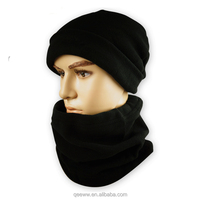 3 Piece Thermal Polar Fleece Hat, Scarf & Glove Women's Winter Set