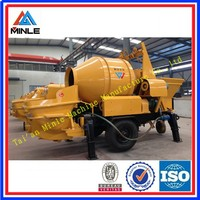 2015 Hot sale Rotary electric concrete mixer pump JBHBTS30-13-37S