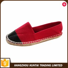 Attractive Handmade Sole shoes woman flat shoes