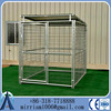 High quality used galvanized / powder coated wire mesh fencing dog kennel