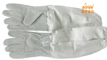 Ventilated Beekeeping Gloves Long Lether Bee Safety Gloves/bee keeper Protect Bee Gloveser