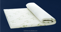 100% polyester memory foam mattress for bed sponge mattress LS-M-010 memory foam mattress roll up packing