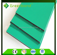 Greenbond famous insulated aluminum sandwich facade panel of low price