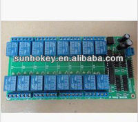 New 16-channel relay module 12V with LM2576 power supply