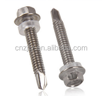 galvanized steel screw , steel /stainless steel self drilling tapping screw competitive price