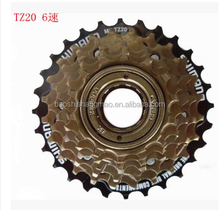 high quality famous brand Mtb Bicycle Freewheel TZ20-6