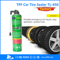 TPF mini portable car emergency tire sealer and inflator
