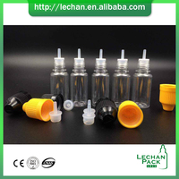 colorful 15ml Eye Droppers pet bottle scrap buyer with drip tip cover pet plastic bottle for e-liquid