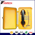 Industrial ip67 dustproof &waterproof communication system hotline telephone KNSP-01