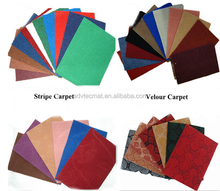 Latest branded velour felt carpet (Introduction of Velour carpet)