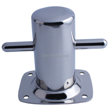 marine hardware wholesaler Cross Bollard Stainless Steel 316 Marine Grade Boat Deck Mooring Cleat