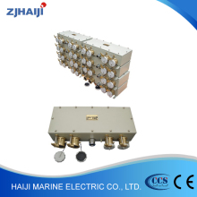 Wholesale CZXS3-2/15 3P+E 32A AB series marine series brass reefer container power socket box