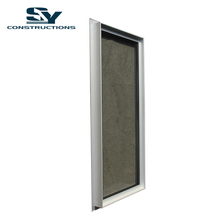 Shanghai SY Constructions America CSA NFRC Dade NOA standard heat resistant aluminium windows for star hotel