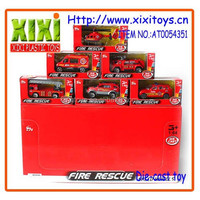 1:64 Newest kids best die cast car toy metal fire trucks