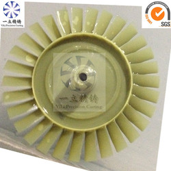 lost wax investment cast turbine wheel/turbine disk/turbine disc