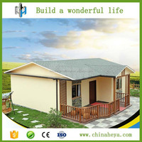 1 floor nice looking prefabricated villa architectural design for africa