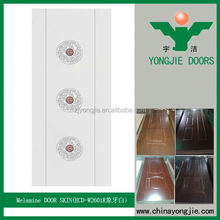 2016 New Popular Eco Friendly Waterproof Cheap White Melamine Cabinet Doors Skin