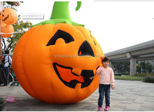 new design Halloween inflatable models hallowmas plastic pumpkin