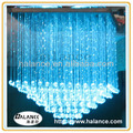 crystal fiber optic chandelier hotel lighting