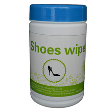 Natural coconut oil shoe clean leather wet wipes bucket