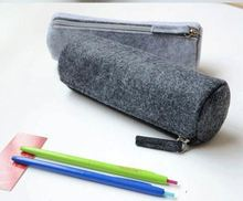 Colourful non woven animal shaped pencil case wholesale