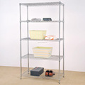 Factory direct sale wire rack 5 Tier Layer Shelf Adjustable Wire Metal Shelving Rack pallet racking