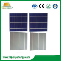 Poly 156*156 6'' 4.1 W poly solar cells cheap price solar cells for India