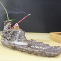 incense set Gilding old fishman refluent incense and incense stick double-purpose design