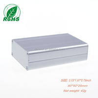Metal Aluminum Extrusion Enclosure Aluminum Pcb Enclosure