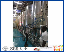 Pasteurized Milk Production plant , UHT Yogurt Processing line with bottle package