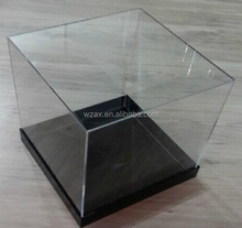 Transparent square Acrylic packing box with LOGO