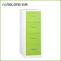 office staff cheap small steel storage 4 drawer hanging A4/A6 folder file iron cabinet