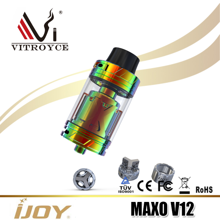 Alibaba Express online shopping products IJOY MAXO V12 Atomizer with Chinese wholesale suppliers