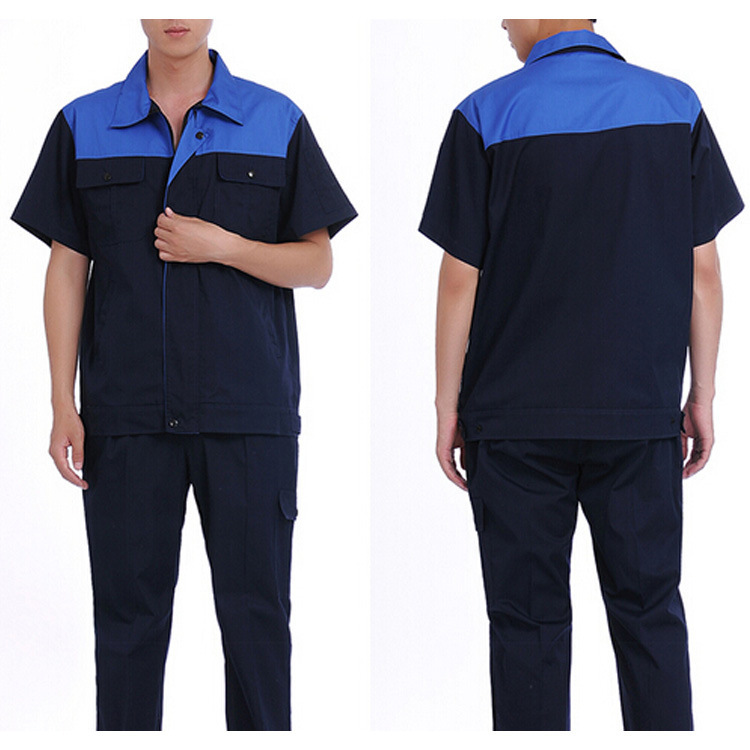 GZY alibaba website wholesale workwear clothes 2016 safety blue work wear