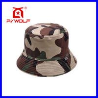 RZWOLF blank stylish funny custom camo bucket hat