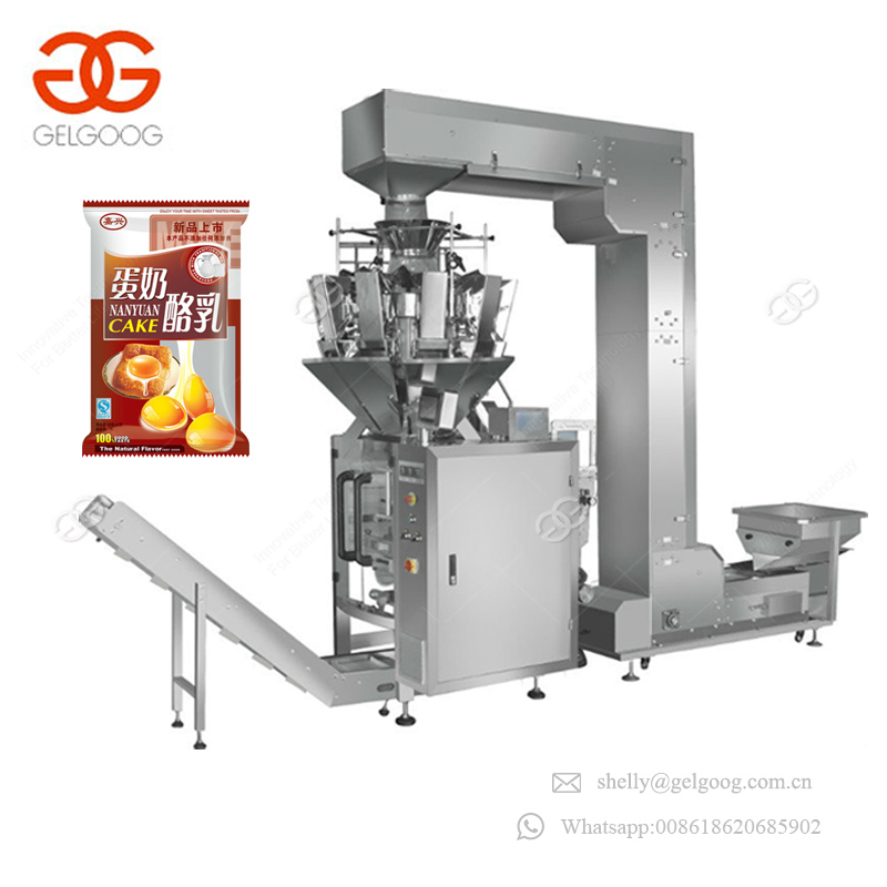Multi Heads Vertical From Potato Chips Apple Slices Filling Weigher Pet Food Packing Machinery