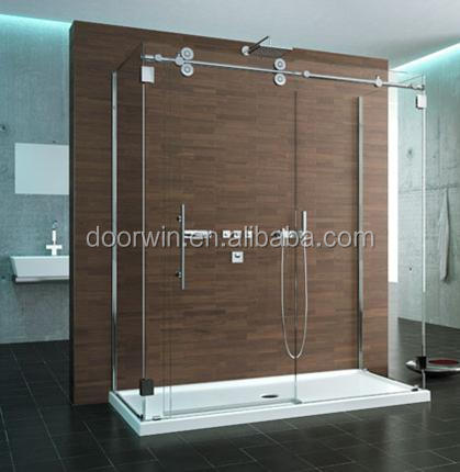 frameless glass accordion swing shower doors,shower with door